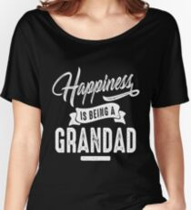 Happiness Grandad Women's Relaxed Fit T-Shirt