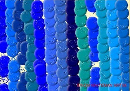 (BLUES ) ERIC WHITEMAN ART   by eric  whiteman