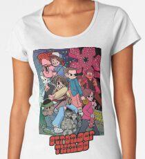 Stranger Things Vs The World Women's Premium T-Shirt