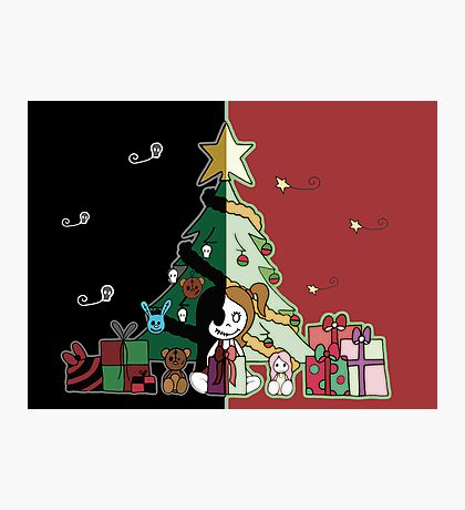 Cute & Creepy Christmas Photographic Print