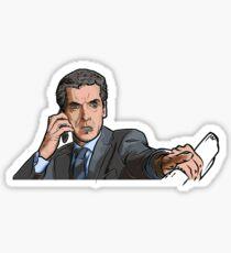 Malcolm Tucker Sticker