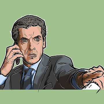Malcolm Tucker by jamestomgray