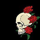 Skull & Roses by sebi01