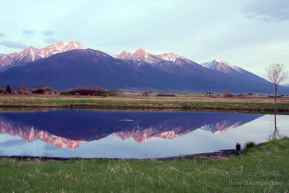 Sunset Reflections by Ilene Baumgardner