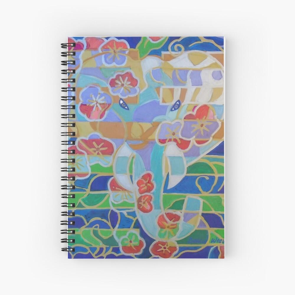 Hexagram 16: Yu (Enthusiasm) Spiral Notebook