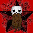 The Bearded Skull by sebi01