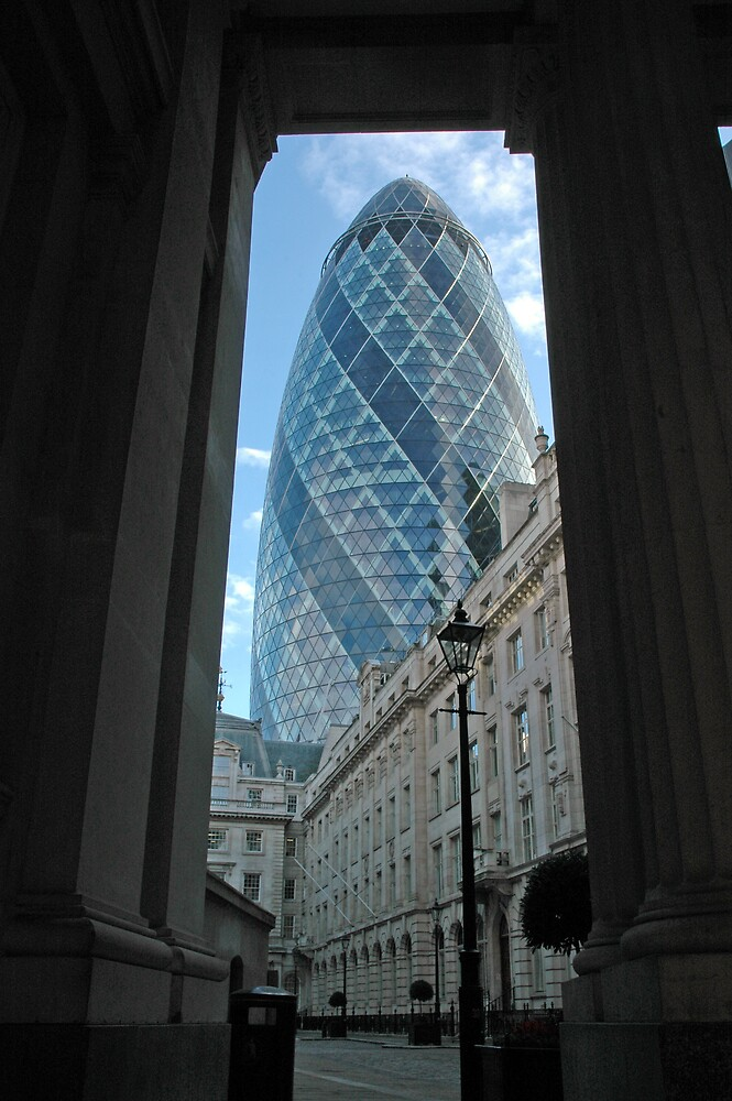 London Gherkin by DAra KHaled
