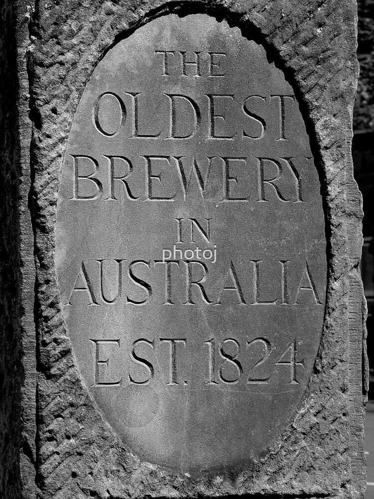 photoj Tasmania Hobart, Cascade B. Headstone by photoj