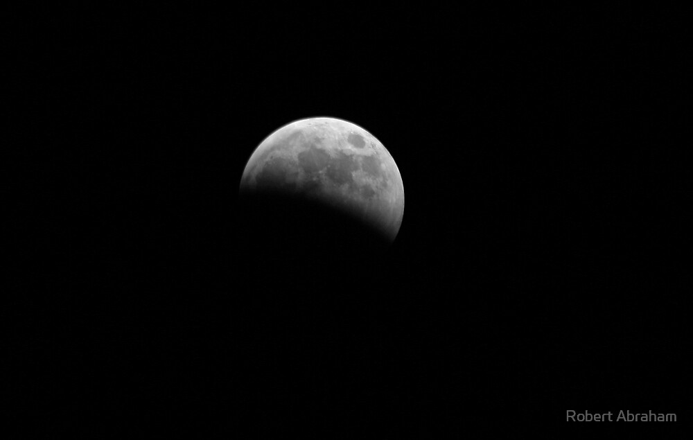 Moon Eclipse by Robert Abraham