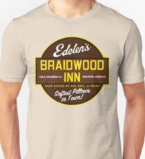 """Braidwood Inn - Wichita KS"" - Motel on ""Planes, Trains & Automobiles"" Unisex T-Shirt"