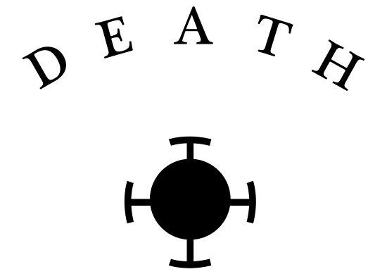 "One Piece Hand Tattoo: ""Trafalgar Law Death Hand Tattoo"" Poster By HayTim"