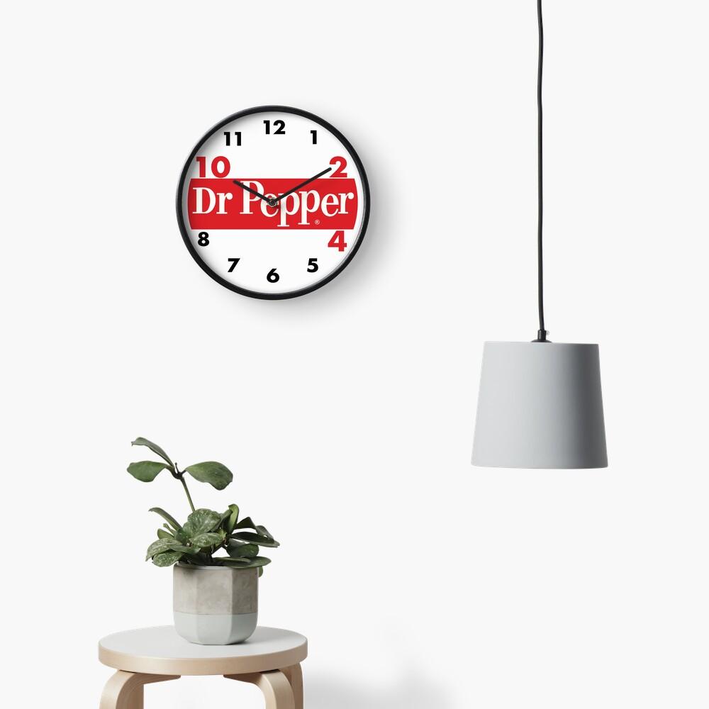 DR.PEPPER 4 Clock