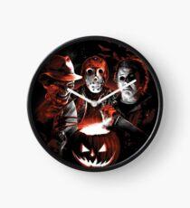 Super Villains Halloween Clock