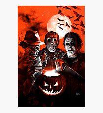 Super Villains Halloween Photographic Print