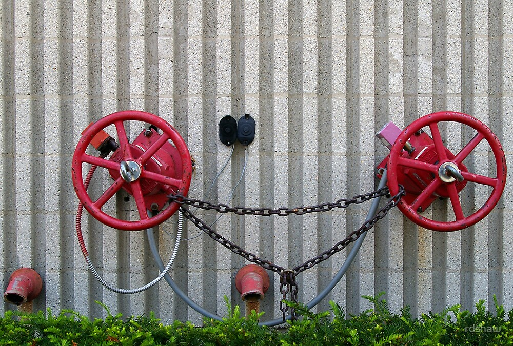 Red Fire Wheels by rdshaw