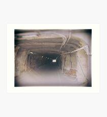 The Long Tunnel Art Print