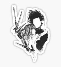scissorhands Sticker