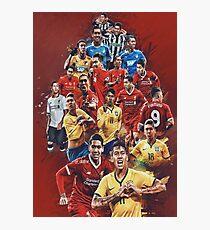 Firmino (Liverpool FC- Brazil NT) Photographic Print