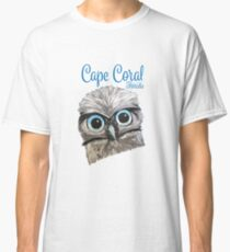 Cape Coral Florida Burrowing Owl Classic T-Shirt