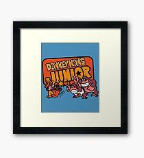 Vintage Donkey Kong Junior Framed Print