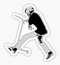 Stunt Scooter Champ Sticker