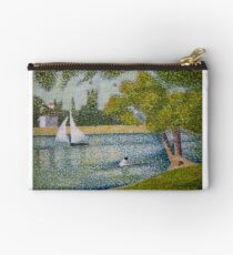 The Seine at La Grande Jatte Studio Pouch