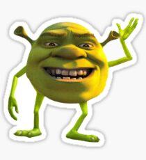 Shrek with a twist  Sticker