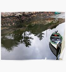 Dungloe Reflections  - Co. Donegal   Ireland   Poster
