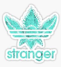 stranger things adidas 2 Sticker