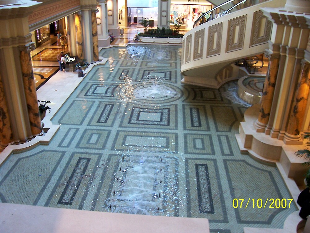 Inside Ceasar's Palace, Las Vegas by HungarianGypsy