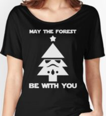 may the forest be with you Women's Relaxed Fit T-Shirt