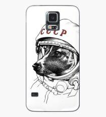 Laika, Weltraumreisende Hülle & Klebefolie für Samsung Galaxy