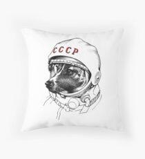 Laika, space traveler Floor Pillow