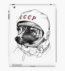 Laika, space traveler iPad Case/Skin