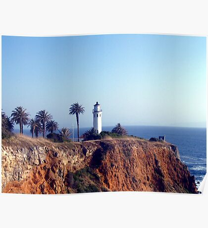Point Vicente Lighthouse  Poster