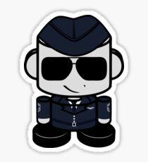 Aim High Air Force Hero'bot 1.0 Sticker