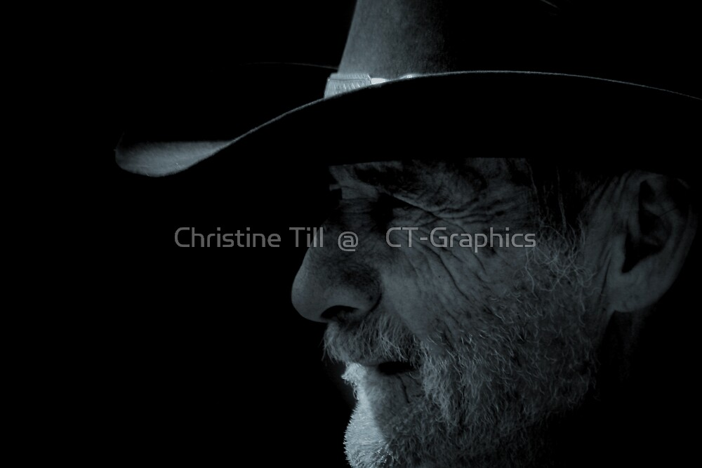 Midnight Cowboy by Christine Till  @    CT-Graphics