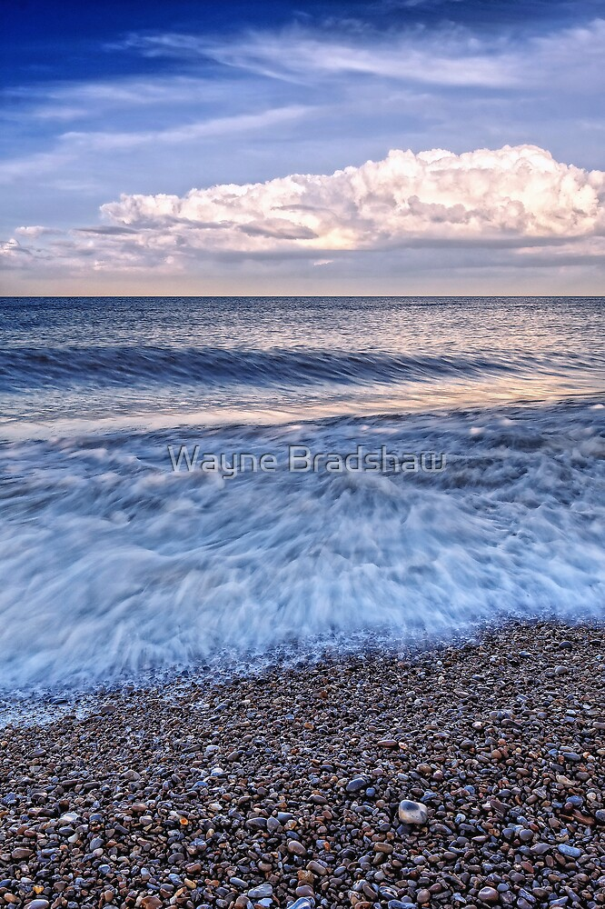 Sizewell Beach Suffolk. by Wayne Bradshaw