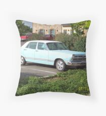 Classic Car, Prescott Valley, Arizona Throw Pillow