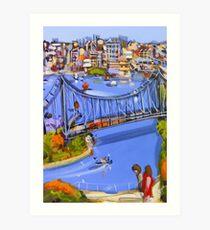 Story of a river Art Print
