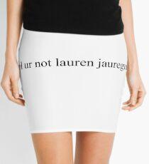 Minifalda lol no ur Lauren Jauregui