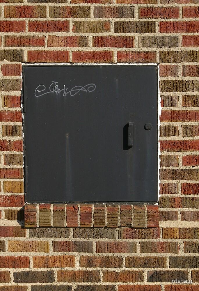 Iron Door Graffiti by rdshaw