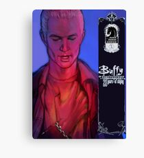 Spike btvs 20th anniversary (mock up cover) Canvas Print