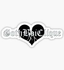 Goth Boi Clique Black Sticker