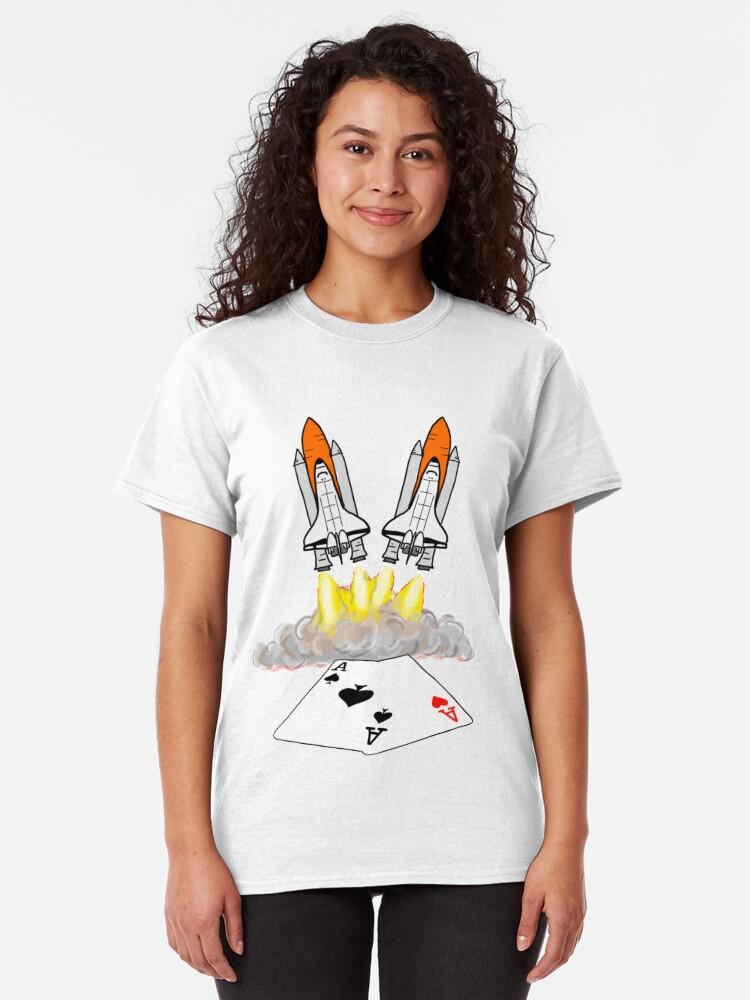 Alternate view of Pocket Rockets Classic T-Shirt