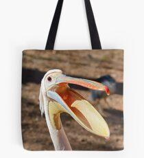 Pelecanus onocrotalus Tote Bag