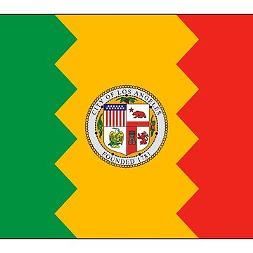 Los Angeles City Flag by csmarshall