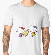 Hello kitty painter Men's Premium T-Shirt