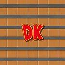 Donkey Kong barrel by gingerraccoon