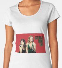 Amy and Tina SNL Women's Premium T-Shirt